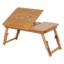 1 Pc Lit Table Tour Réglable Bambou Therming Dissipine Rack Plateau Dortoir Lit Tour Bureau Portable Lecture Plateau Stand Lit Table