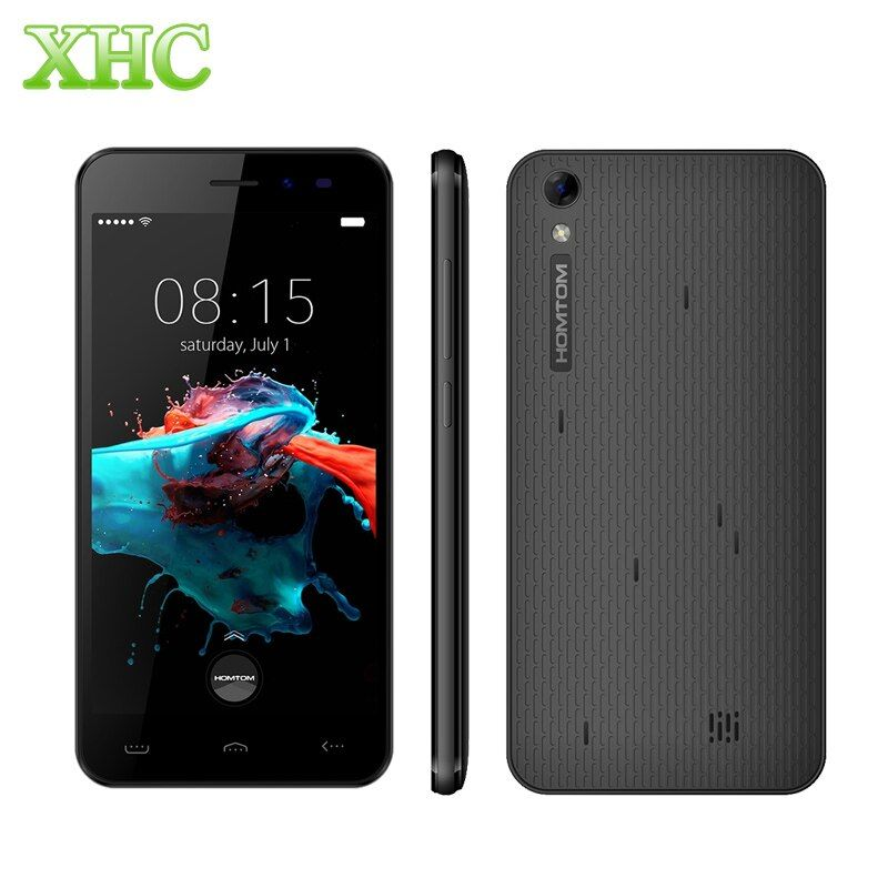 HOMTOM HT16 3G WCDMA Smartphones MTK6580 Quad Core Android 6.0 1GB RAM 8GB ROM Cellphones 5.0'' 1280x720 3000mAh Mobile Phone