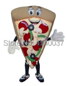 Mascotte Combinaison Pizza Costume De Mascotte de Bande Dessinée carnaval de Caractères costume de fantaisie Costume party