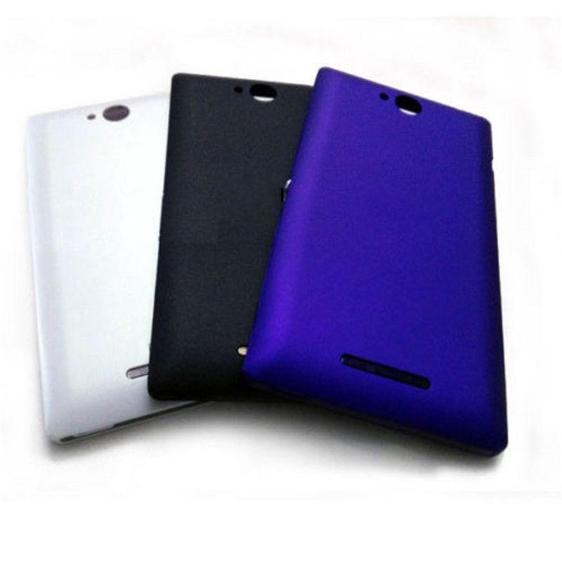Vannego Batterie Abdeckung Ersatzteile Für Sony Xperia C C2304 S39 C2305 S39H S39C Hinten Batteriefach Rückseitige Abdeckung Gehäuse
