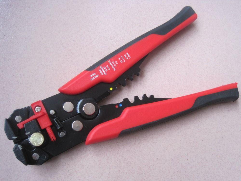 0,25-6mm2 automatische draht striper cutter crimper Selbstnachstellende kabel abisolierzange LS-A318 Elektrische abisolieren zange