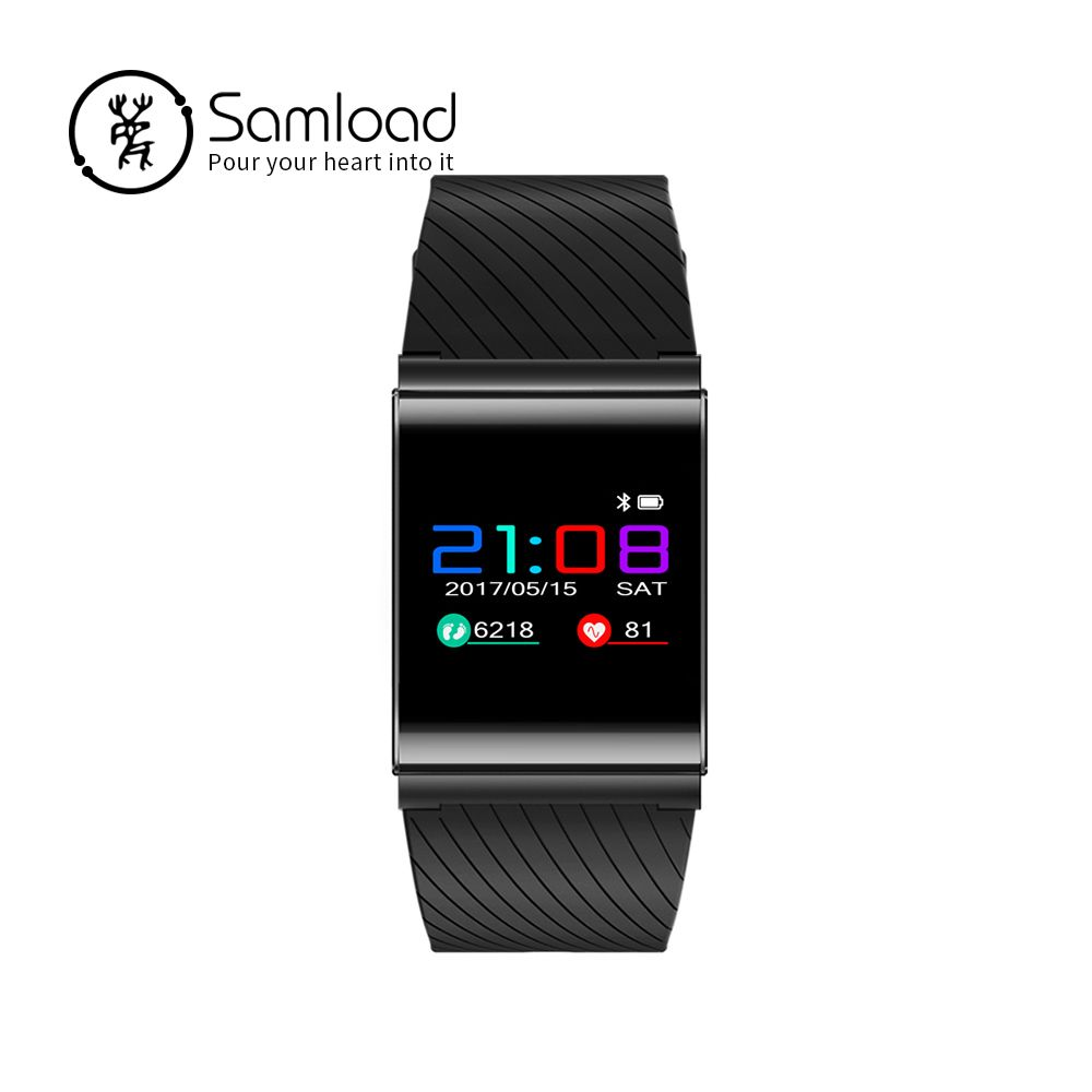 Samload Smart Bracelet Bluetooth Sports Wristband Fitness Tracker Band 3 Pedometer Clock Sedentary Reminder For iPhone7 8 Xiaomi