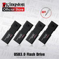 Kingston USB флеш-накопители 8 ГБ 16 ГБ 32 ГБ 64 ГБ 128 ГБ USB 3,0 флеш-накопитель Высокая скорость PenDrives DT100G3