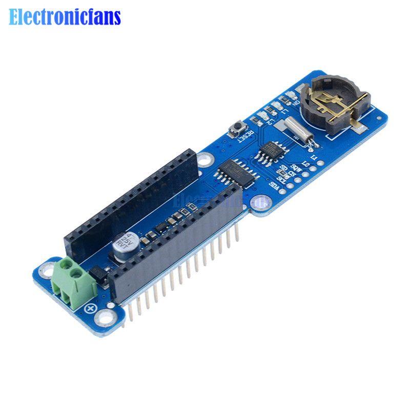 Nano V3.0 Datenerfassung Schild Für Arduino/MICRO Temperaturdatenlogger Recorder Nano Modul 3,3 V Mit Sd-karten-schnittstelle RTC Real Time uhr
