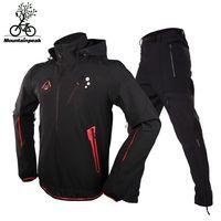 Mountainpeak езда мужской осенью и зимой с длинными рукавами утолщенной весной и осенью горный велосипед Ветер Доказательство сцепление