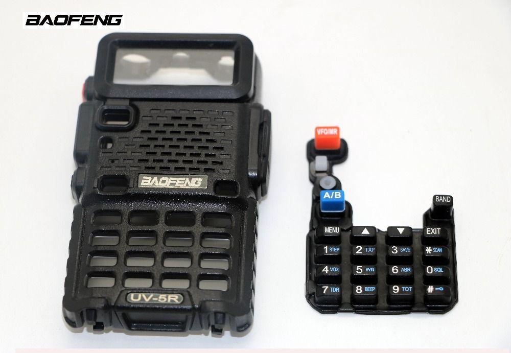 Baofeng original UV-5R walkie talkie cover shell for UV5R UV-8HX UV-5RHX UV-5Rplus cb portable radio shell broken to change