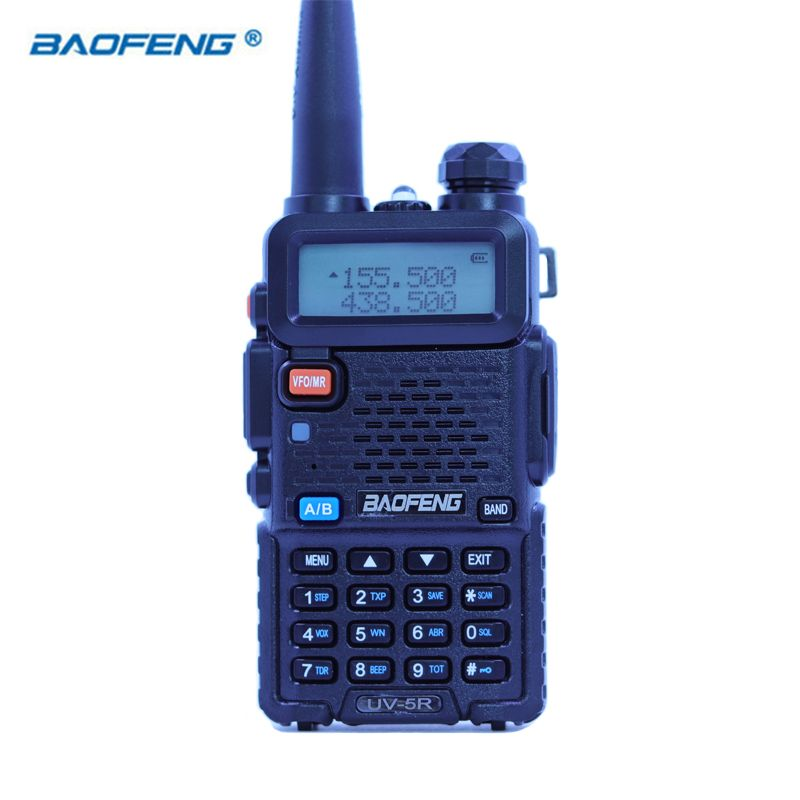 Baofeng UV-5R Walkie Talkie CB HAM Radio Dual Band VOX 2 Way Portable Transceiver VHF UHF FM BF UV 5R Radios PPT Handheld Stereo