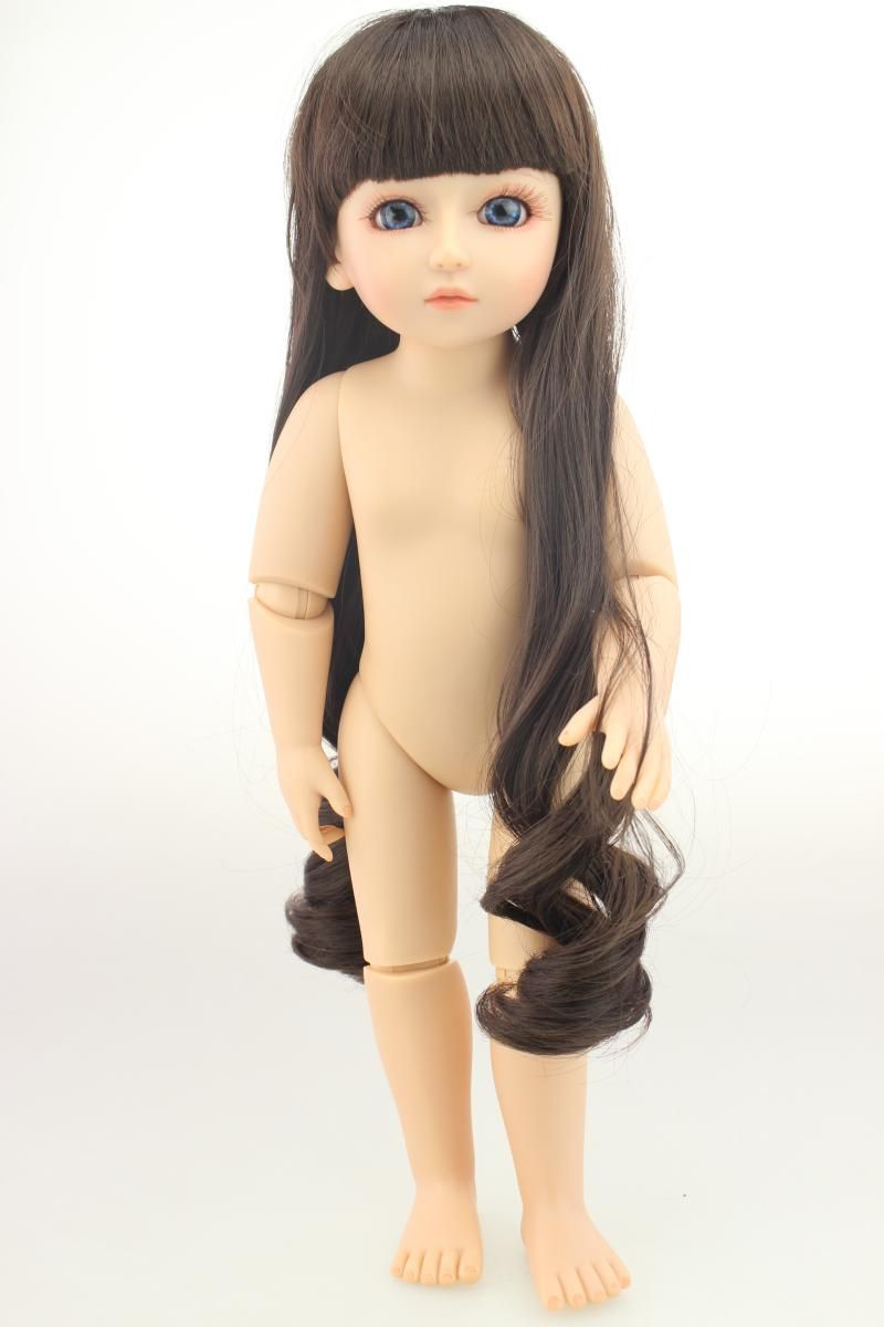 18 inch Ball Jointed Doll SD/BJD Baby Reborn Dolls toys 45 cm SD silicone american girls doll body can stand bjd dolls Gifts