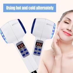 Panas Dingin Hammer Kulit Wajah Mengencangkan Cryosurgery Biru Foton Jerawat Perawatan Kulit Kecantikan Massager Wajah Perawatan Perangkat