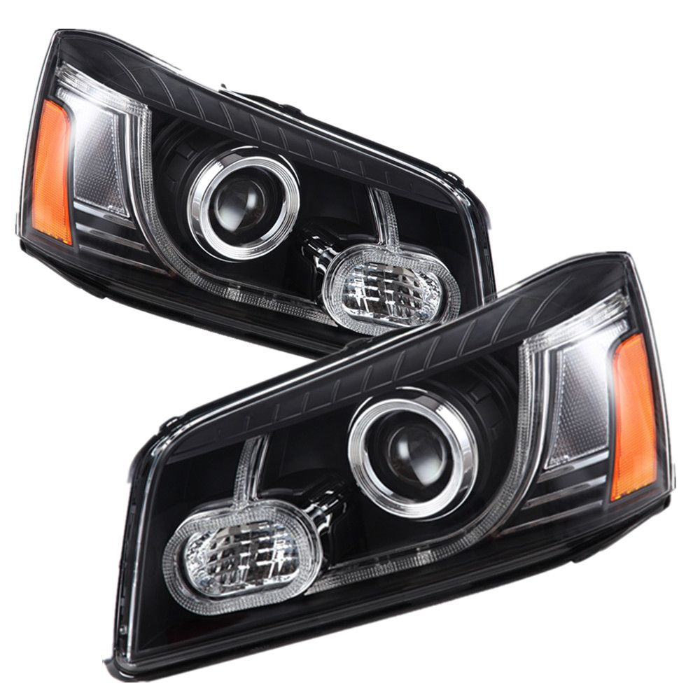 VLAND factory for Car head lamp for HIGHLANDER LED Headlight 2000 2001 2002 2003 2007 Head lamp with Xenon lamp and Day light
