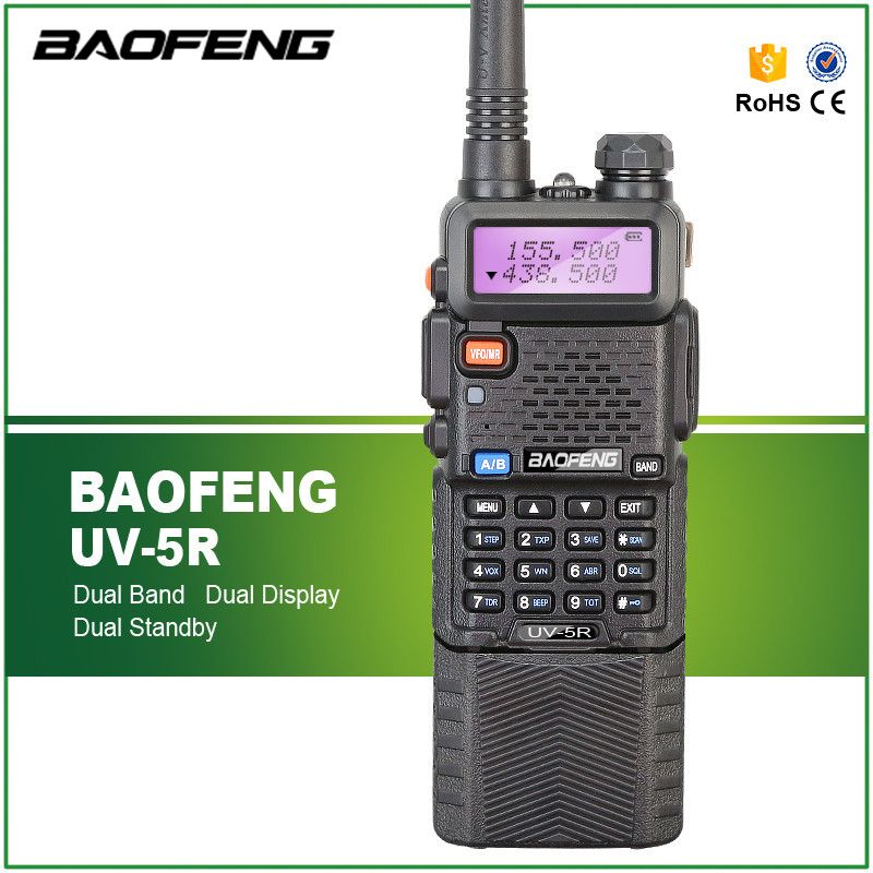 Baofeng UV-5R 136-174 / 400-520 Mhz Dual Band with 3800 MAh li-ion Battery Baofeng uv5r Two Way Radio Portable Walkie Talkie