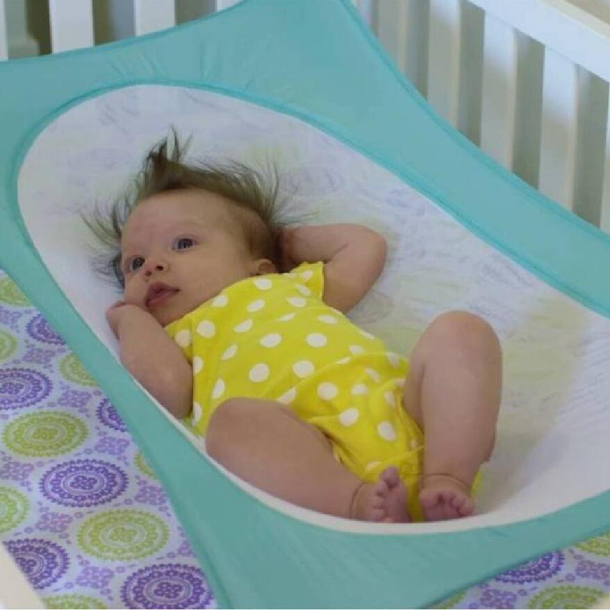 baby Swings Infant Hammock Baby Detachable Protable Folding Crib Cotton Sleeping Bed Outdoor Garden Swing 5 colors