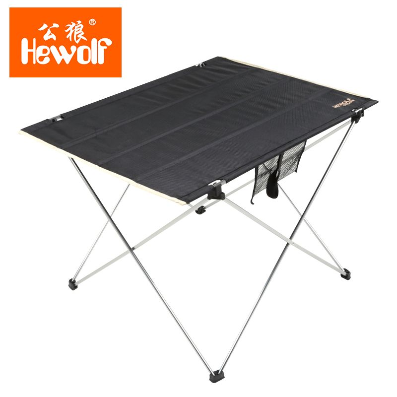 Fishing Tools Ultralight Portable Folding Table Car Camping Picnic Table Outdoor <font><b>Leisure</b></font> Barbecue Aluminum Alloy Oxford Cloth