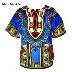 Dashiki nueva ropa africana tradicional imprimir Tops diseño de moda africano Bazin riche ropa dashiki camiseta para hombres mujeres
