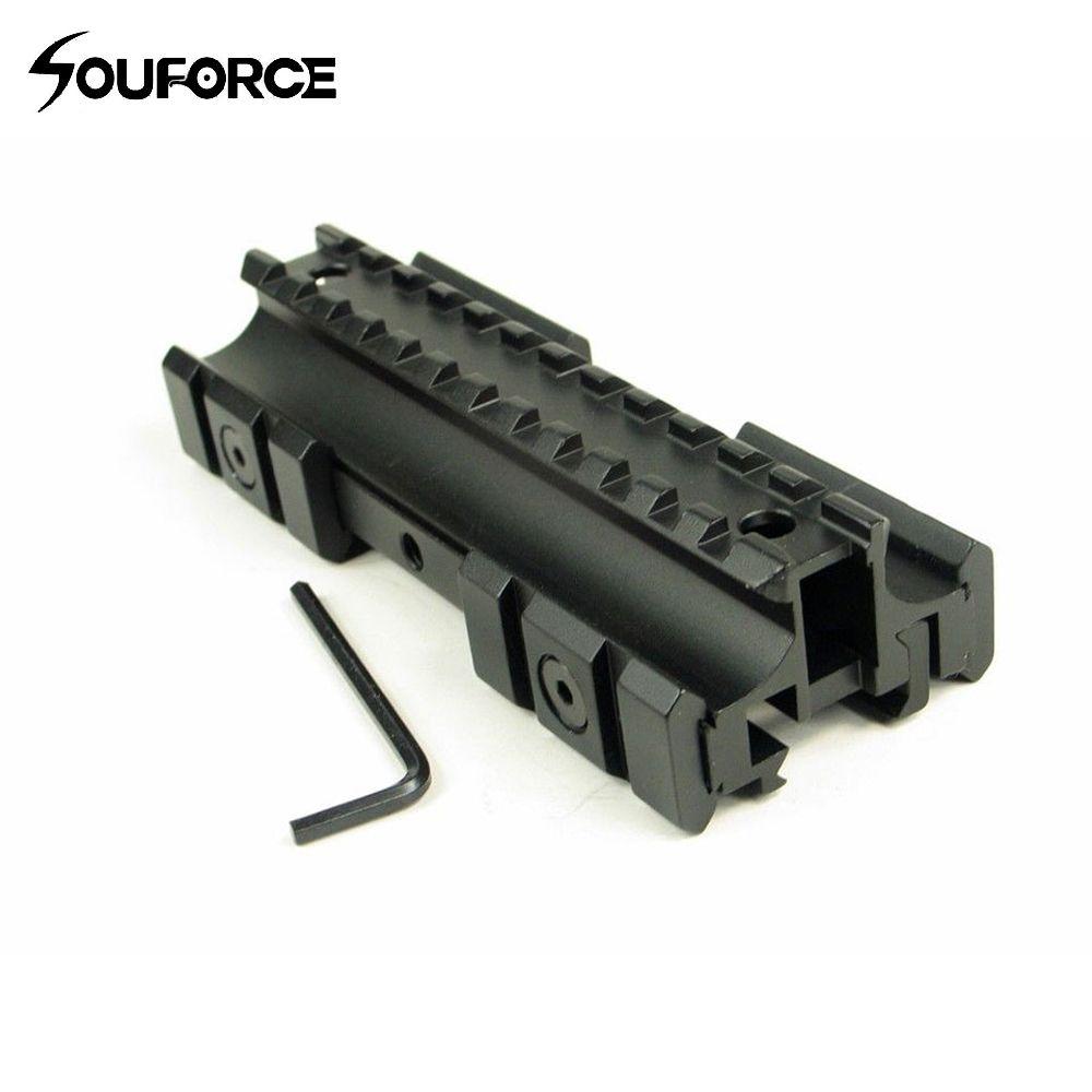 Dreibettzimmer Seite Flat Top 11mm/20mm Weber/Picatinny Schiene Tragegriff Fit. 223 Gewehre für 20mm Schiene