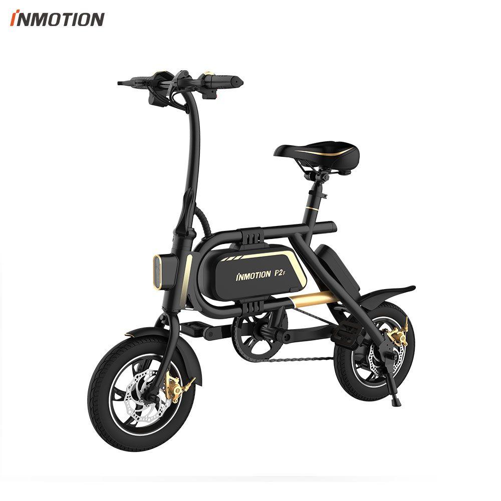 INMOTION P2F EBIKE Faltrad Mini Fahrrad Elektrische Roller Lithium-ionen Batterie 350 W CE RoHS FCC