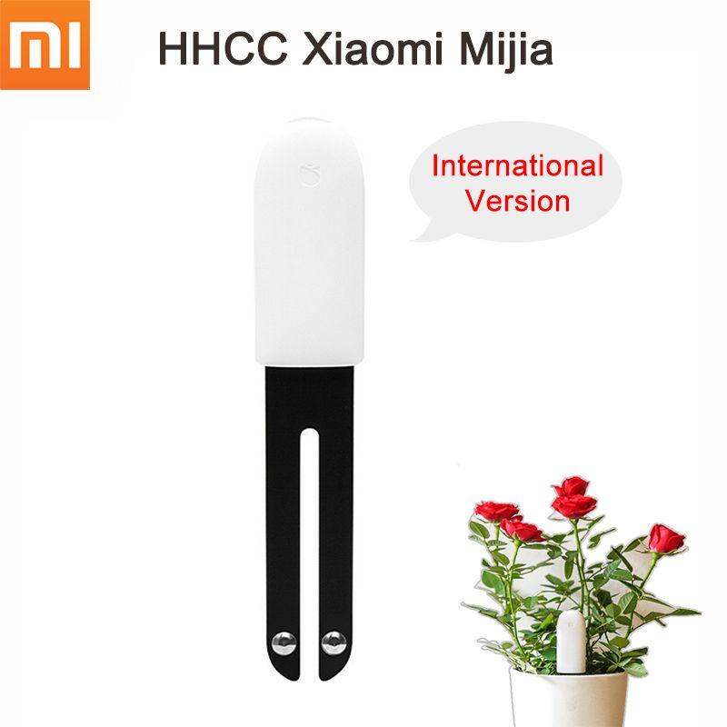 [English Version] Xiaomi Mi Flora Monitor Digital Grass Flower Care Soil Water Light Smart Tester Sensor for Garden Plants