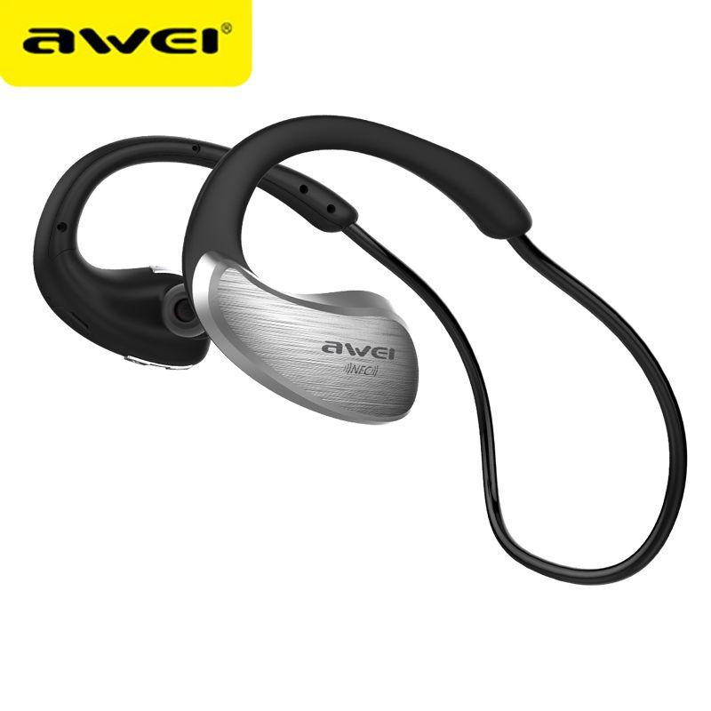 AWEI A885BL Bluetooth Earphones Wireless Headphone With Microphone NFC APT-X Sport Headset Cordless Earpiece kulakl k