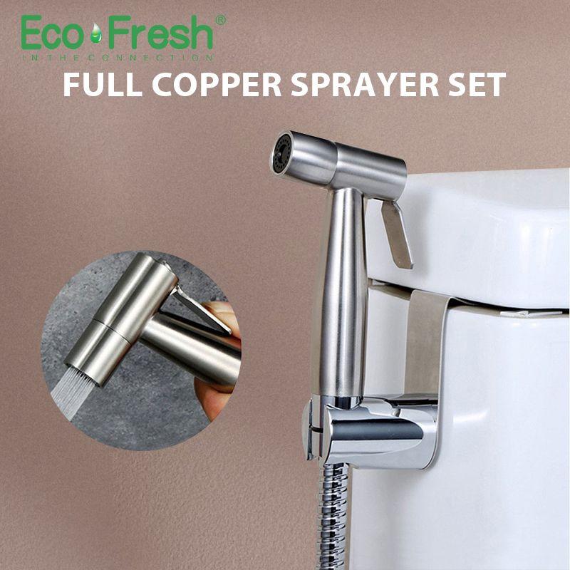 Ecofresh Bidets bathroom hand shower bidet toilet sprayer hygienic shower bidet tap wall mount bidet faucet
