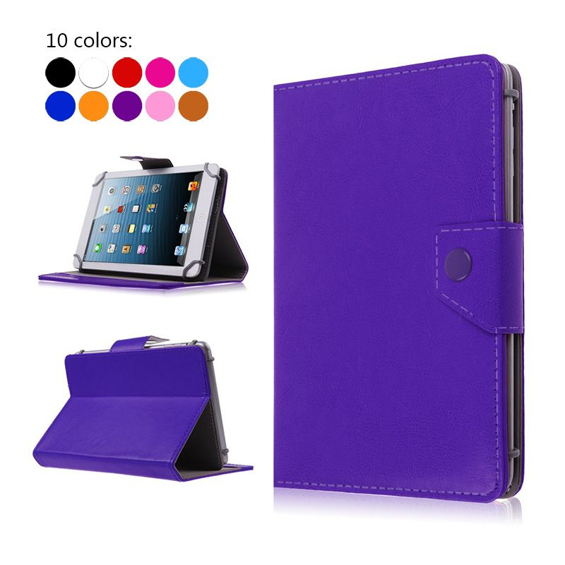 Tablet Case Cover 7 inch Universal PU Leather Stand Flip cases for Megafon Login 2 Login2 MT3A 7.0 inch Universal bags+3 gifts