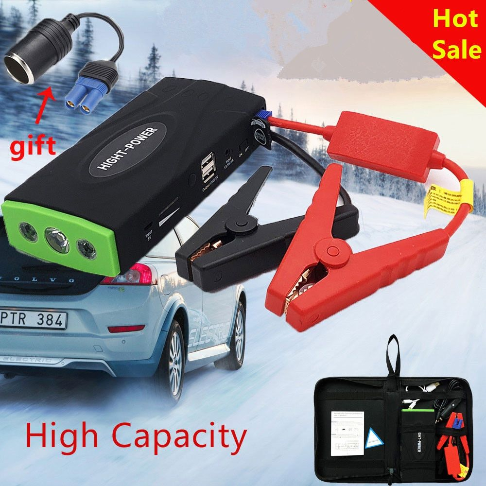 Mini Emergency Car Jump Starter High Power Portable Power Bank Vehicle Battery Charger 12V Startup Power for car Starting Device