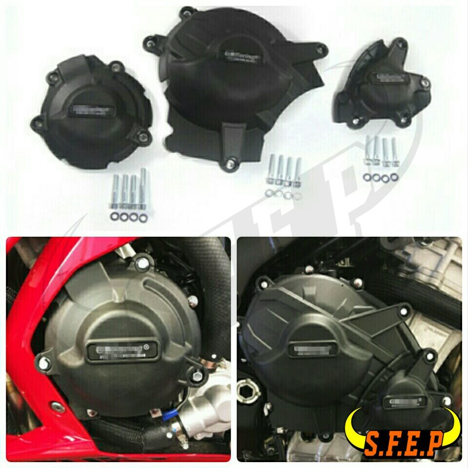 Motorcycle Engine Case Guard Protector Cover GB Racing For Suzuki GSX-R1000 GSXR1000 L7 2017