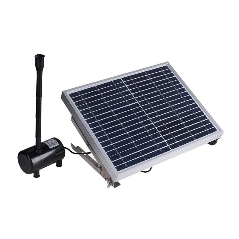 10 watt 17 v Solar Panel Powered Brunnen Garten Teich Pool Wasserpumpe Tauch Bewässerung Pumpe Kit