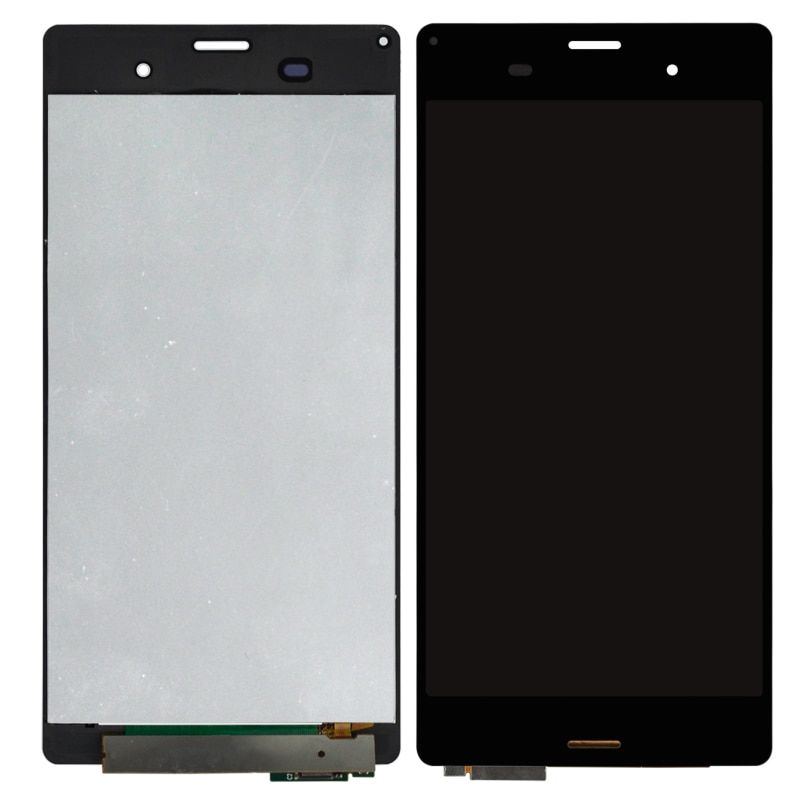 5pcs Black White Display For Sony Xperia Z3 LCD D6653 D6633 D6603 Touch Screen Assembly Phone Replacement Parts DHL Free Ship