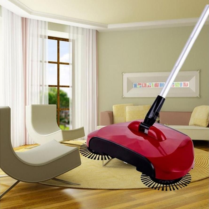 2017 New Arrival 360 Rotary Home Use Magic Manual Telescopic Floor Dust Sweeper 522
