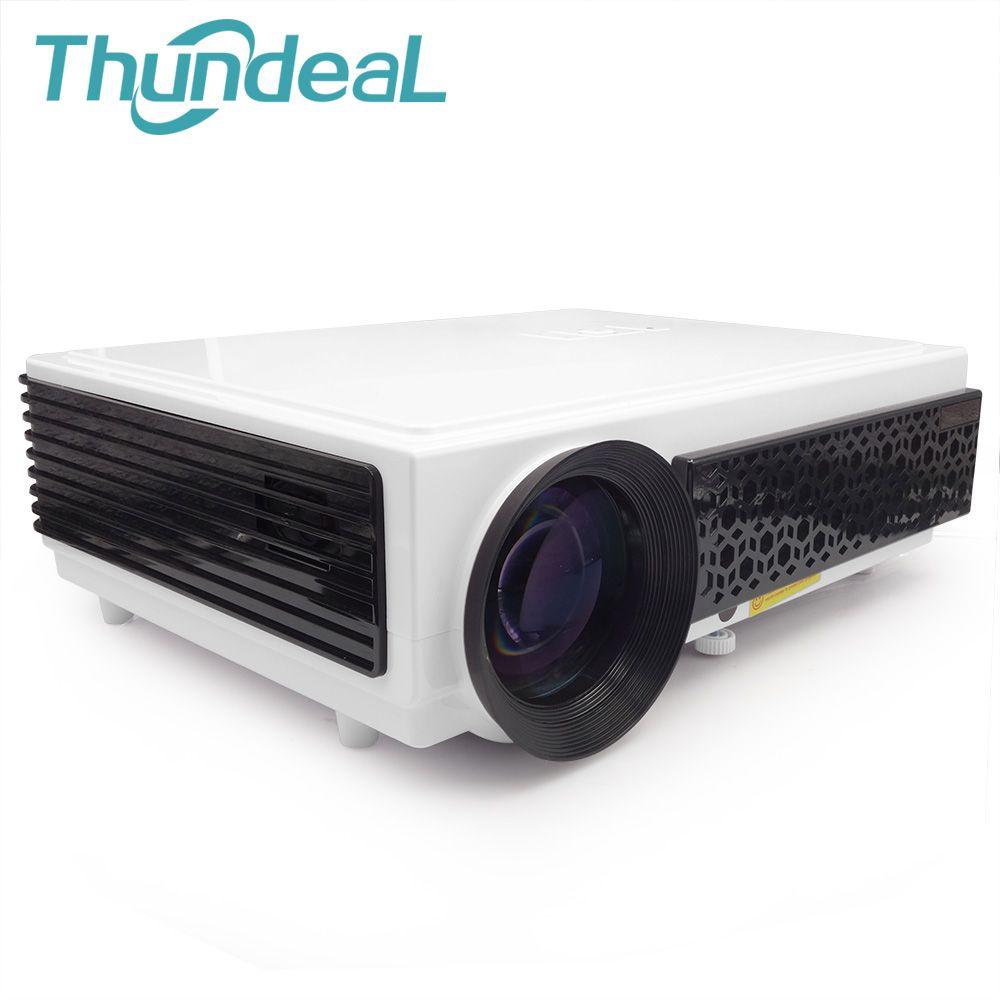 ThundeaL LED96 LED96 + LED96W Android Projektor Proyector Full HD 3D Heimkino Cinema Unterstützung 1080 p Beamer Multimedia Lehre