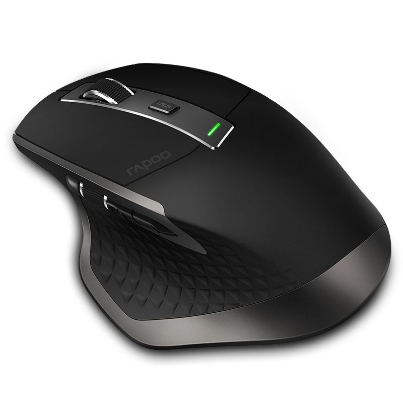 New Rapoo Rechargeable Multi-mode Wireless Mouse Switch between Bluetooth 3.0/4.0 and 2.4G for Four Devices Connection