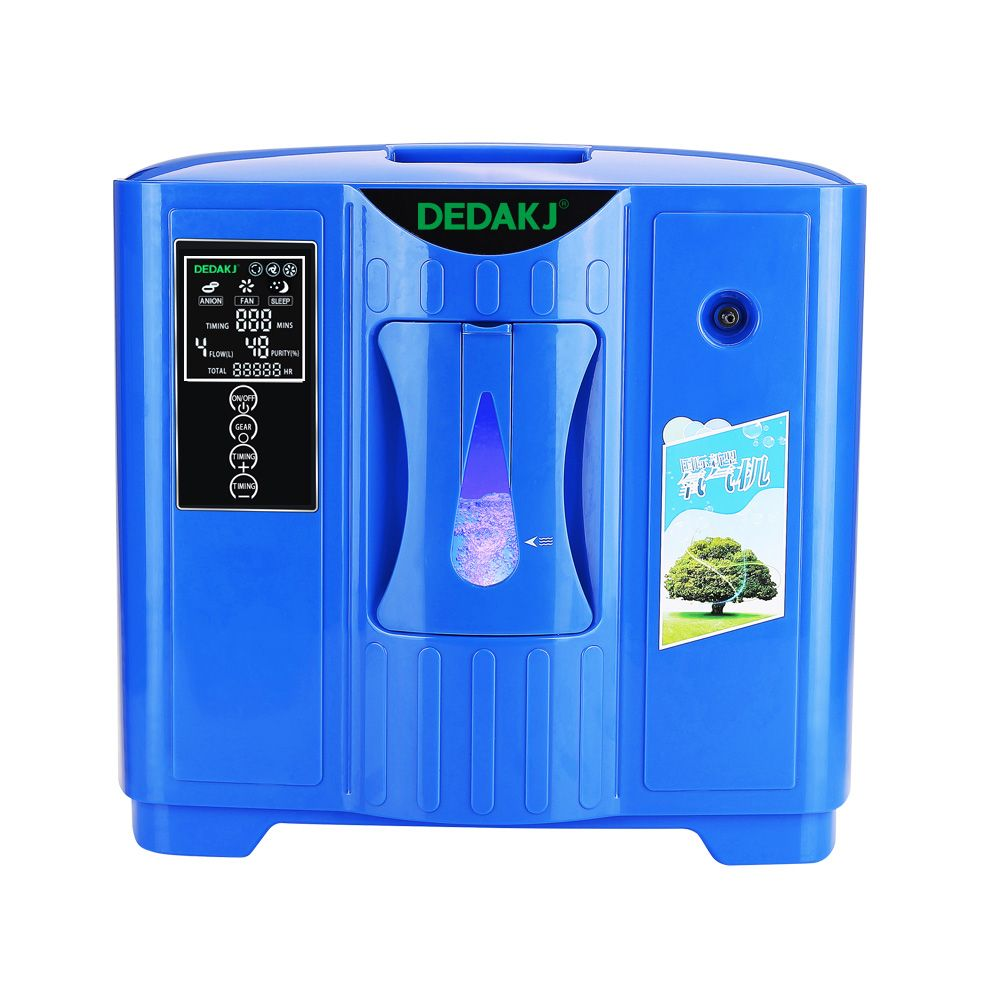 DEDAKJ DDT-2F Portable Oxygen Concentrator Generator Household Portable Machine Home Air Purifier 220V Free Shipping