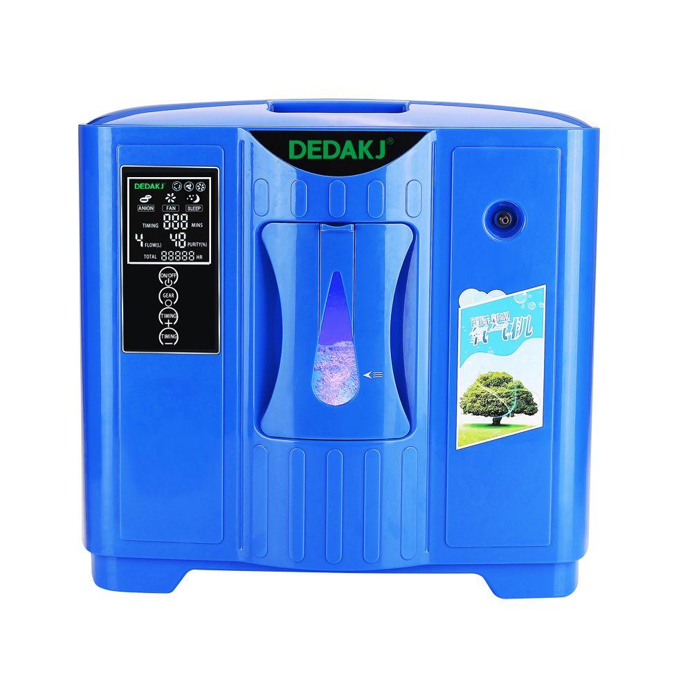 DEDAKJ DDT-2F Tragbare Sauerstoff Konzentrator Generator Haushalt Tragbare Maschine Hause Luft Reiniger 220 v Freies Verschiffen