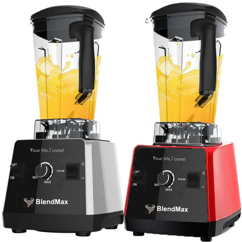 Germany technology BPA Free 3HP 2200W Commercial Blender Meat grinder Mixer Powerfull Food Smoothie Fruit Blender juicer