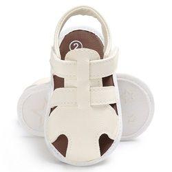 Été Nouveau-Né Bébé Garçons Filles Évider Infantile PU En Cuir Premiers Marcheurs À Semelle Souple Plage Lit Bebe Chaussures