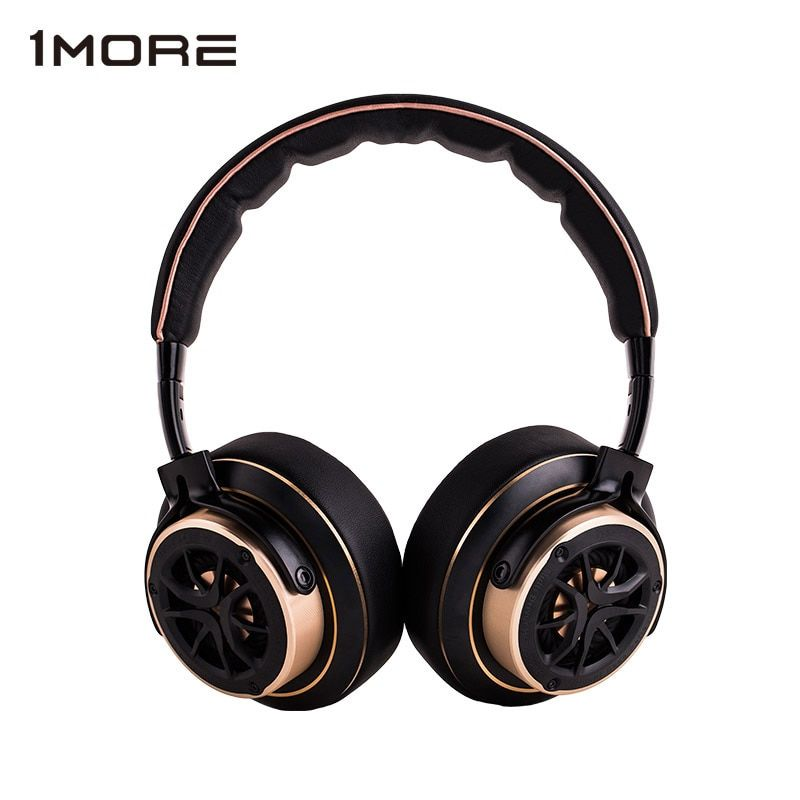 1 MORE Triple Driver Over-ear Wired Headphone Hifi DJ Noise Isolating on-ear Headphones big Headset for phone, Foldable Design