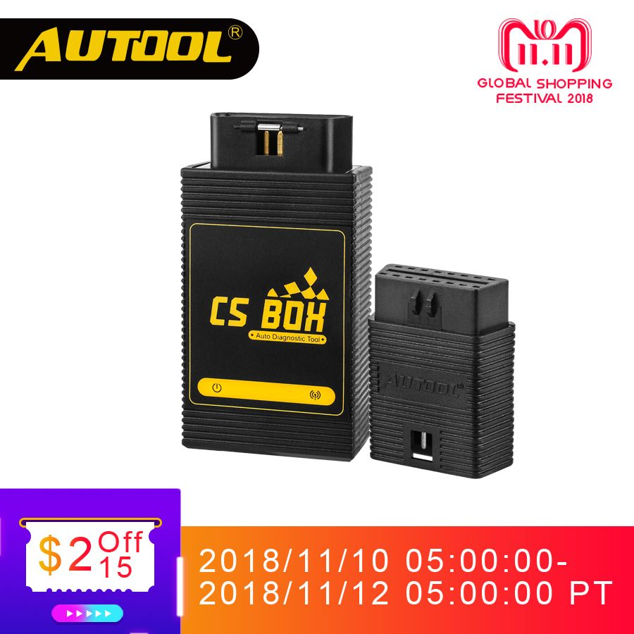 AUTOOL CS BOX Easy Diag Mdiag OBDII Diagnostic Multi System ETC Airbag ABS Key Coding Scanner Bluetooth Connect Android Launch