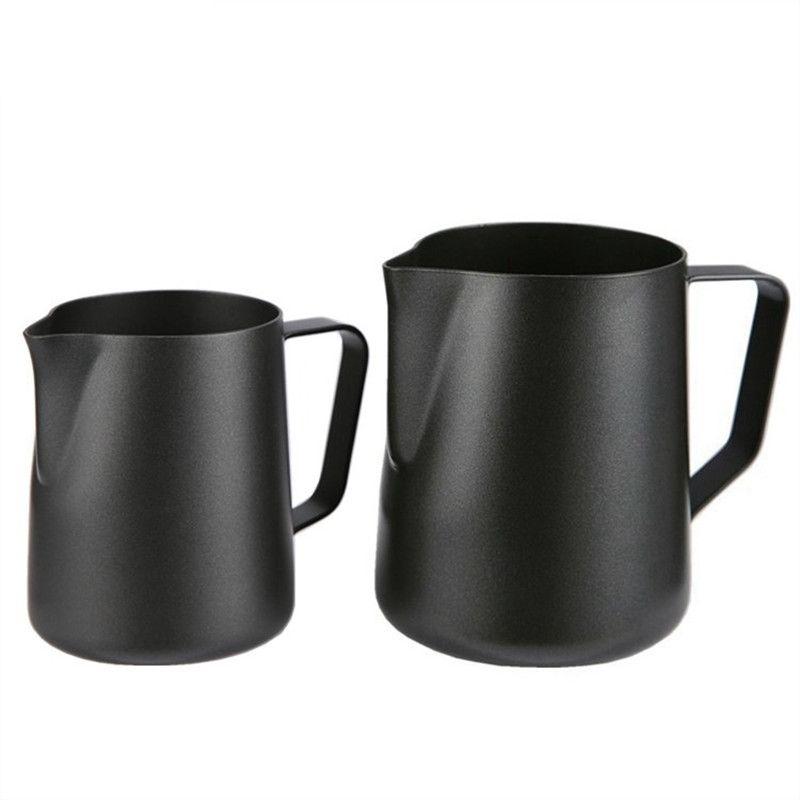 Cruche moussante café expresso pichet Barista Craft café Latte lait mousseuse en acier inoxydable tasse colorée mousseur Jug350ml