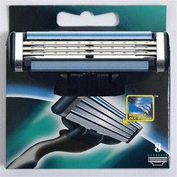 8 шт./компл. бритья Бритвы лезвия для Для Мужчин's Уход за кожей лица бритвы Стандартный RU & евро, ААААА Бритвы лезвия маше 3 кассеты для бритья