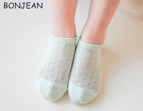 Comercio al por mayor 2017 del verano del nuevo bebé calcetines de algodón puro calcetines calcetines lindos 10 unids soc25