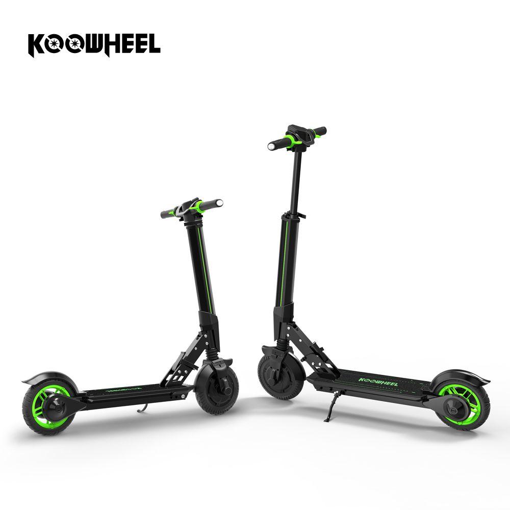 Koowheel Neue Elektrische Roller Upgrade Faltbare Stepper Roller Mini Elektrische Skateboard Tretroller Longboard für Kinder Erwachsene