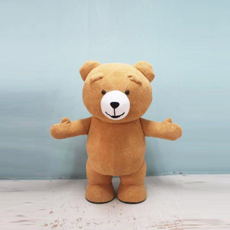 New Style Inflatable Costume Inflatable Teddy Bear For Advertising 2M Tall Customize For Adult Suitable For 1.6m To 1.8m Adult