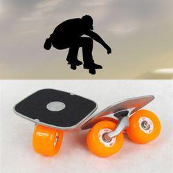 Portabel Papan Hanyut Untuk Freeline Skates Rol Jalan Driftboard anti-selip Skate board Skateboard Olahraga
