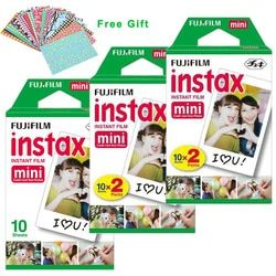Original Fuji Fujifilm Instax Mini 9 Film White 50 Sheets For 8 9 7 7s 50s 90 25 50i Share SP1 SP2 Polaroid Instant Photo Camera