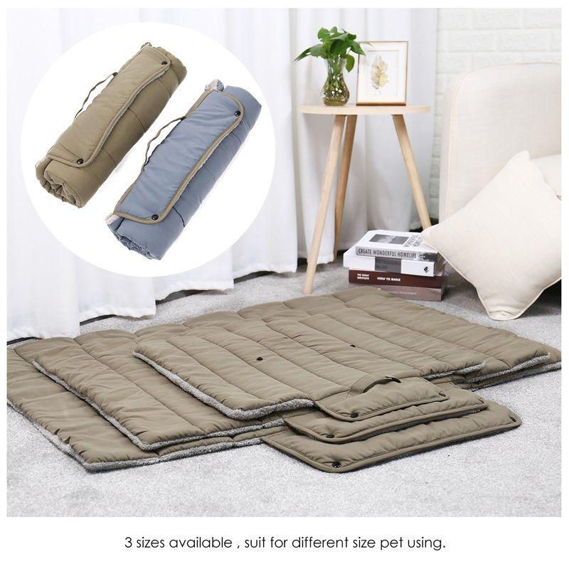 Tapis multifonction pour animaux de compagnie doux confortable chien chat canapé-lit pliable porte-produit commodité adapté marche à l'extérieur coussin livraison gratuite