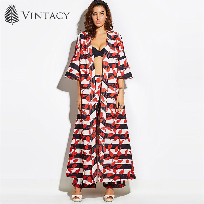 Vintacy 2017 отпуск Для женщин красные летние Тренчи для женщин Пальто для будущих мам цветочный Тренч Тренчи для женщин Для женщин Пальто для бу...