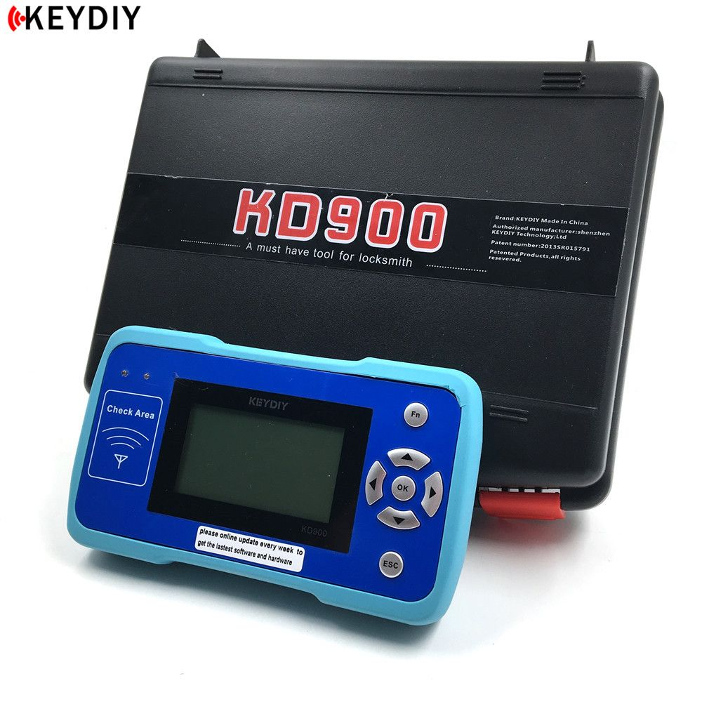 KEYDIY Latest Original KD900 Remote Maker the Best Tool for Remote Control Frequency Tester,Auto Key Programmer
