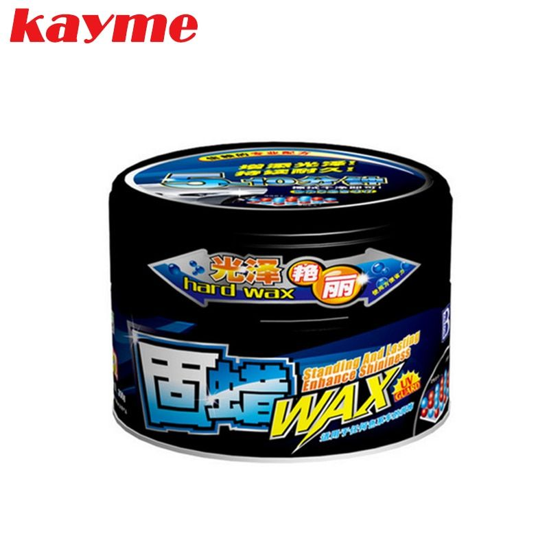 Kayme car solid wax paint care protection scratch repair wax polish for clear auto coating nano polishing paste remove scratches
