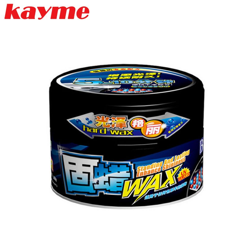Kayme voiture cire solide peinture soins protection scratch de réparation de cire pour clair auto revêtement nano pâte à polir enlever les rayures
