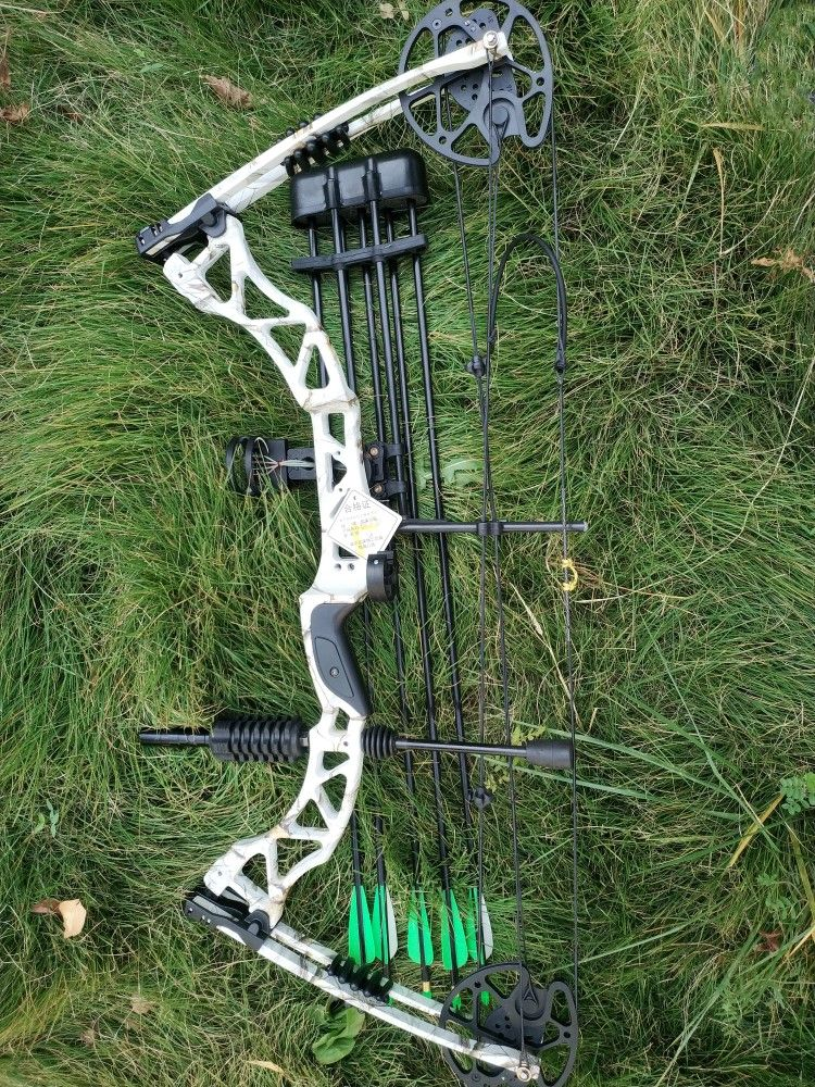 Right Handed 30 To 70lbs Draw Weight Adjustable Compound Bow Sets With Sight And Quiver Arrow Rest